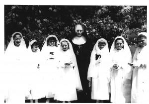1961 communion solennelle des filles